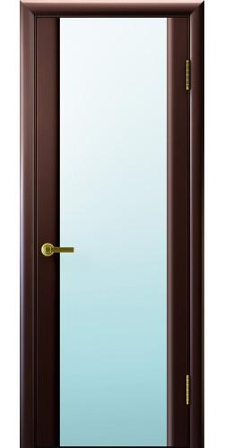 Дверь межкомнатная шпонированная со стеклом Техно 3 венге