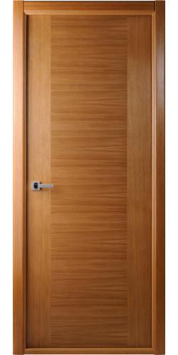 Дверь шпонированная глухая Классика дуб