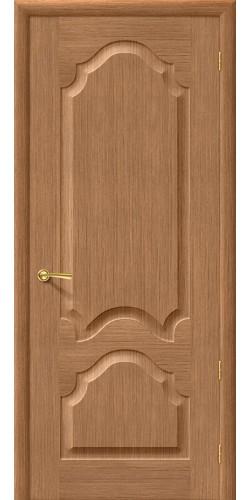 Межкомнатная дверь шпонированная Афина ПГ дуб
