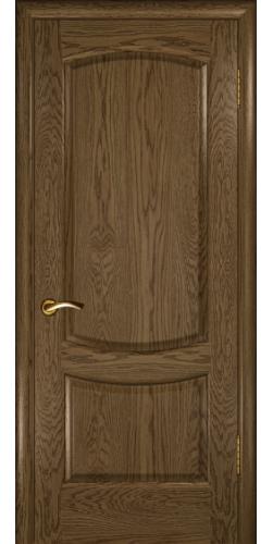 Дверь межкомнатная шпонированная глухая Лаура 2 мореный дуб светлый