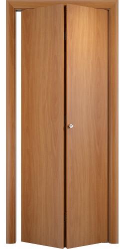 Межкомнатная дверь 3D Гладкая ПГ ск миланский орех
