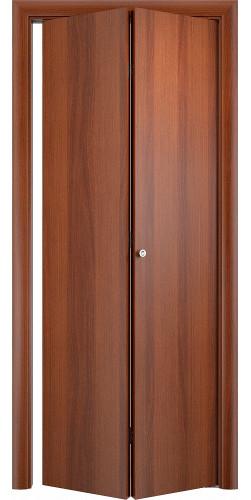 Межкомнатная дверь 3D Гладкая ПГ ск итальянский орех