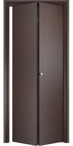 Межкомнатная дверь 3D Гладкая ПГ ск венге