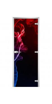 Стеклянная дверь Abstraction-10