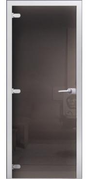 Стеклянная дверь 06 Тонированное серое