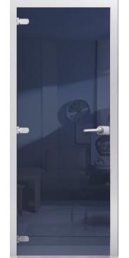 Стеклянная дверь 10 Зеркальное синий жемчуг