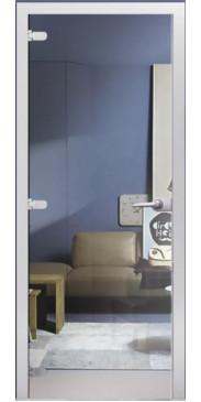 Стеклянная дверь 01 Прозрачное