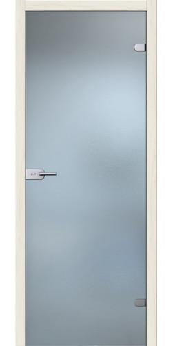 Стеклянная дверь Лайт белое сатинато