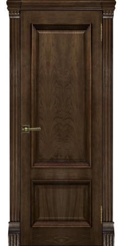 Дверь межкомнатная шпонированная Корсика глухая цвет брэнди