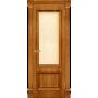 Межкомнатная дверь шпонированная со стеклом Корсика антико