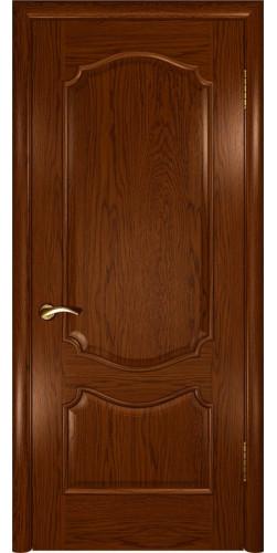 Дверь межкомнатная шпонированная глухая Венеция Дуб сандал
