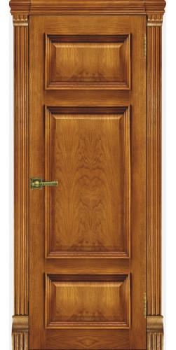 Межкомнатная дверь шпонированная Мадрид ПГ антико