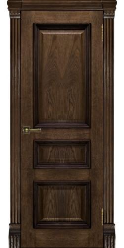 Межкомнатная дверь шпонированная Барселона ПГ Брэнди