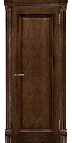 Межкомнатная дверь шпонированная Тоскана ПГ бренди