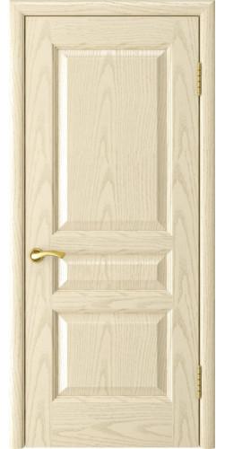 Межкомнатная дверь шпонированная Атлант-2 ПГ слоновая кость