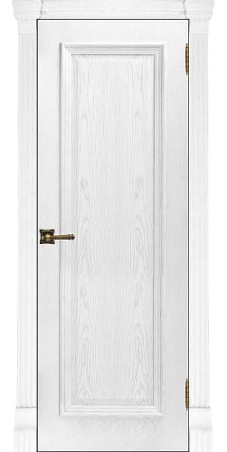 Дверь межкомнатная шпонированная Тоскана глухая цвет перла
