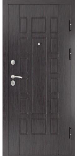 Дверь входная Luxor-5 цвет черная шагрень