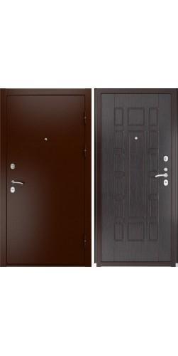 Входная дверь Luxor-3a ПВХ венге