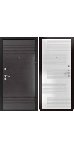 Входная дверь Luxor-7 ПВХ белая эмаль
