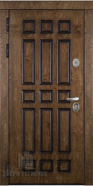Входная дверь Базилика палисандр + патина