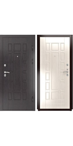Входная дверь Luxor-5 ПВХ 244 беленый дуб ПВХ