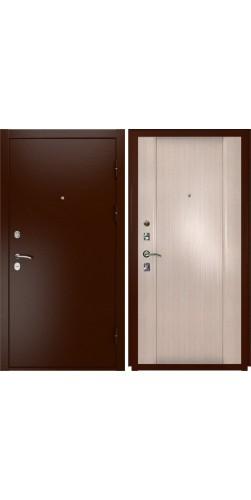 Входная дверь Luxor-3a Синай-3 беленый дуб