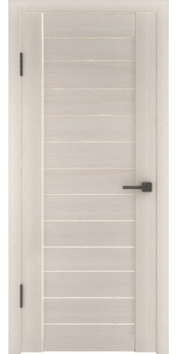 Дверь межкомнатная экошпон глухая Атум 6х белёный дуб