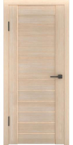 Дверь межкомнатная экошпон со стеклом Атум 6х капучино