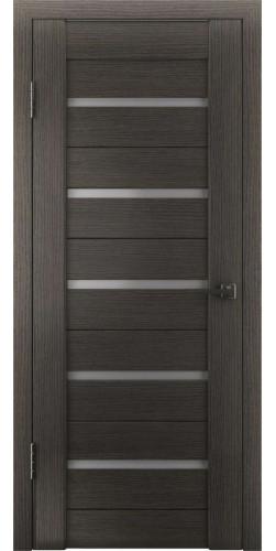 Дверь межкомнатная экошпон со стеклом Атум 7х венге