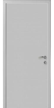 Влагостойкая дверь ДГ EtaDoor RAL 7035 серый