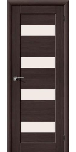 Межкомнатная дверь со стеклом Аква 3 Venge veralinga