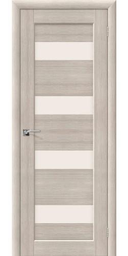 Межкомнатная дверь со стеклом Аква 3 Cappuccino veralinga