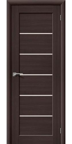 Межкомнатная дверь со стеклом Аква 2 Venge veralinga